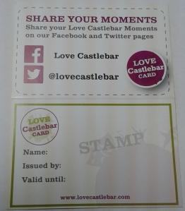 Love Castlebar Card