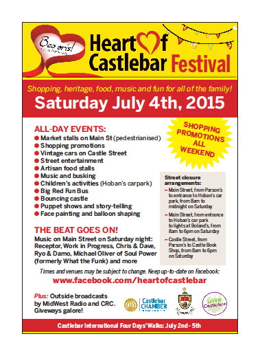 heart of castlebar 2015 flier