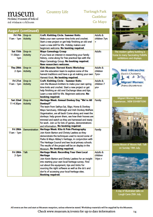museum events july page 4