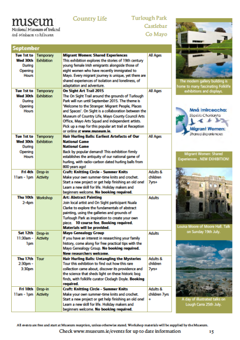 museum events july page 5