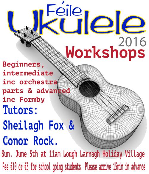 feile ukulele 2016